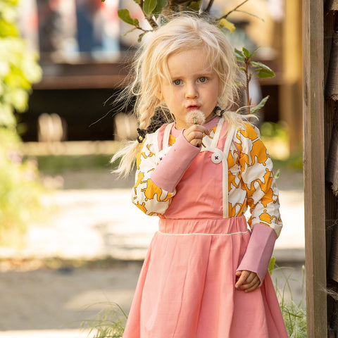 Image of Alba Silje Spencer Dress - Branded Apricot - Tilly & Jasper
