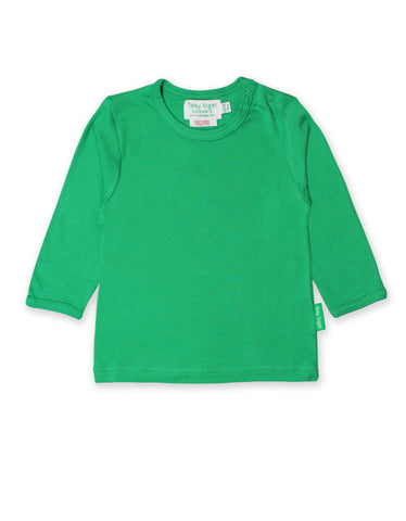 Toby Tiger Green Basic LS T-Shirt