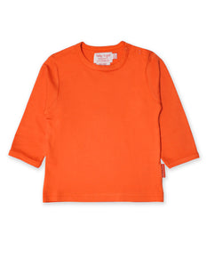 Toby Tiger Orange Basic LS T-Shirt