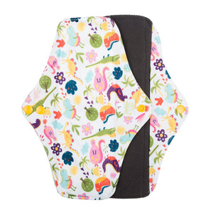Baba & Boo Reusable Large Sanitary Pads - Dinosaur - 2 Pack - Tilly & Jasper