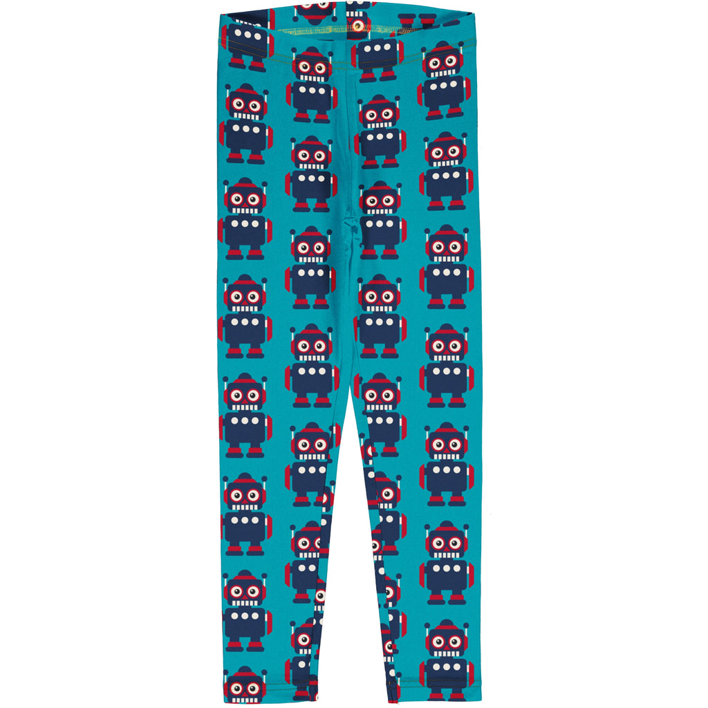 Maxomorra Leggings - Classic Robot