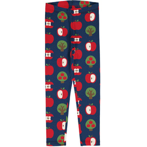 Maxomorra Leggings - Apple
