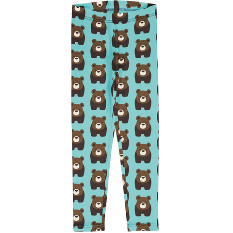 Maxomorra Leggings - Bear
