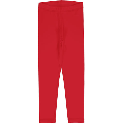 Maxomorra Leggings - Solid Ruby