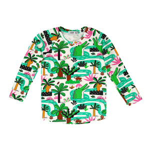 Raspberry Republic LS T-shirt - Amazing Amazonia