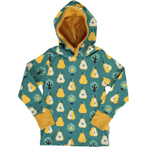 Maxomorra Long Sleeve Hood - Golden Pear