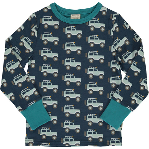 Maxomorra Long Sleeve Top - Jeep Adventure