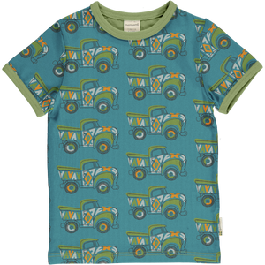 Maxomorra Short Sleeve Top - Painted Truck