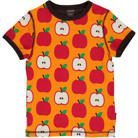 Maxomorra Short Sleeve Top - Apple