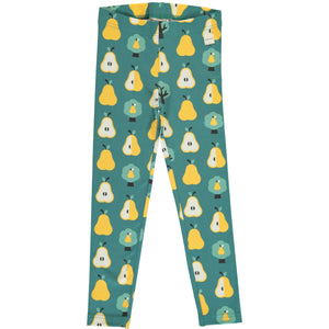 Maxomorra Leggings - Golden Pear