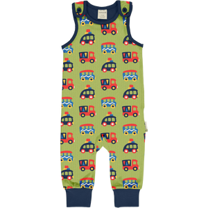 Maxomorra Dungarees - Colourful Cars
