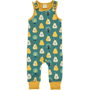 Maxomorra Dungarees - Golden Pear