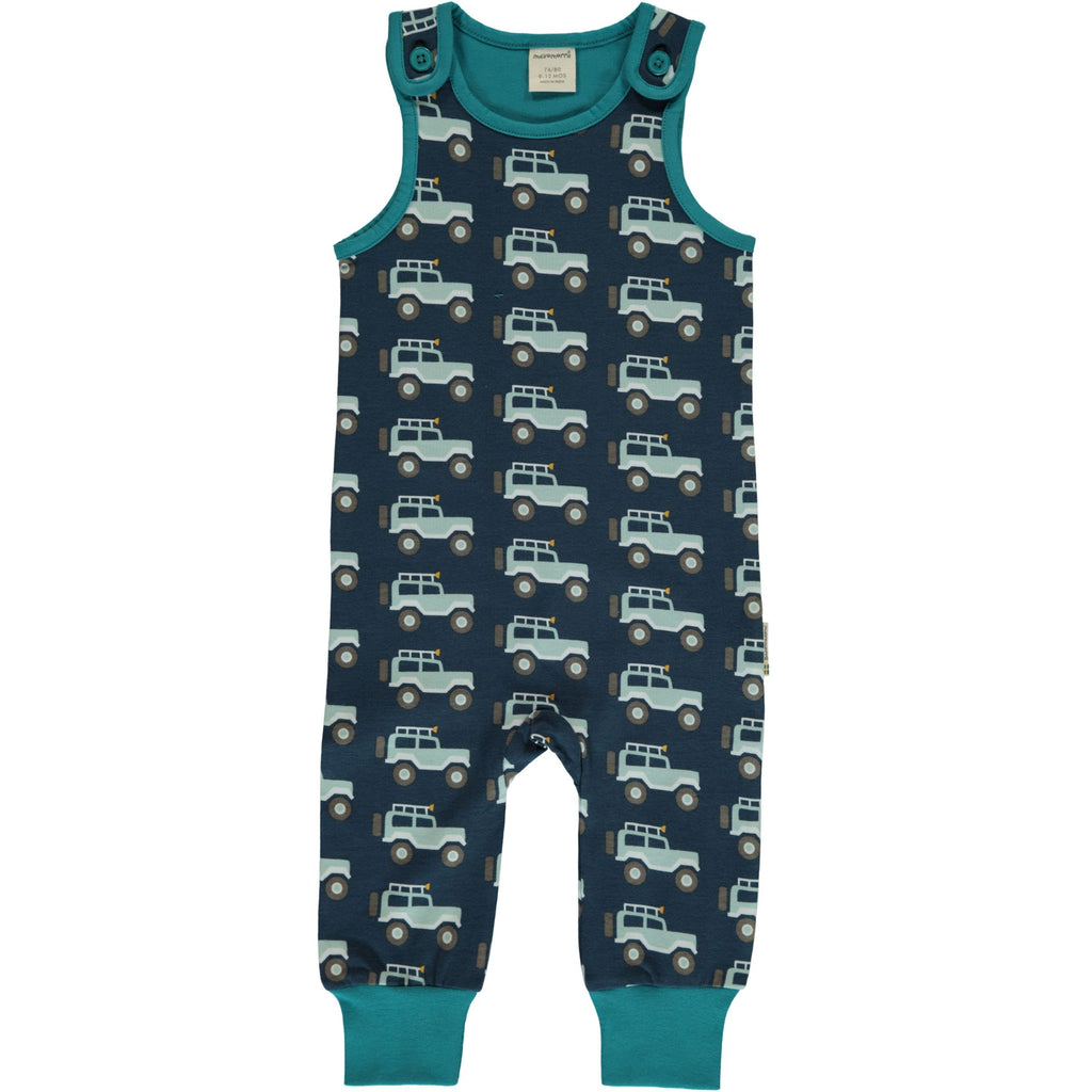 Maxomorra Dungarees - Jeep Adventure