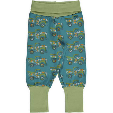 Maxomorra Rib Pants - Painted Truck