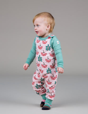 Image of Maxomorra Dungarees - Ruby Rowanberry