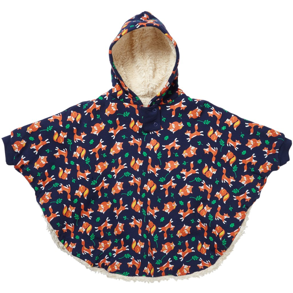 Piccalilly Poncho - Fox