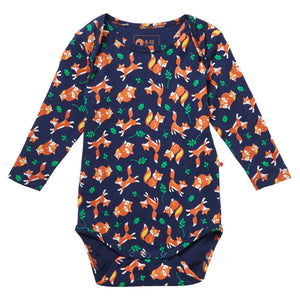 Piccalilly Baby Bodysuit - Fox