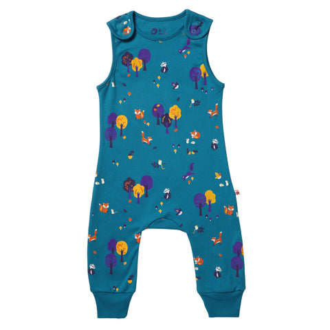 Piccalilly Dungarees - Woodland
