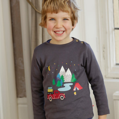 Piccalilly - Happy Campers Top - Organic Cotton