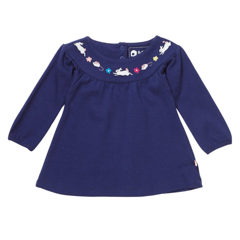 Piccalilly Tunic Top - Bunny & Mouse
