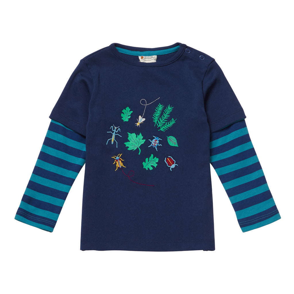 Piccalilly -  Top - Bugs - Organic Cotton