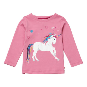 Piccalilly Top - Dusty Pink Unicorn