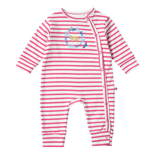 Piccalilly Wrapover Romper - Rainforest