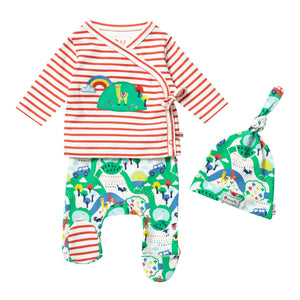 Piccalilly 3 Piece Baby Set - Malham Farm
