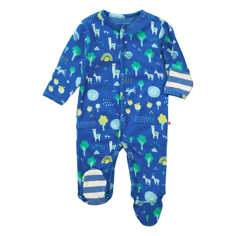 Piccalilly Footed Sleepsuit - Stackhouse Farm
