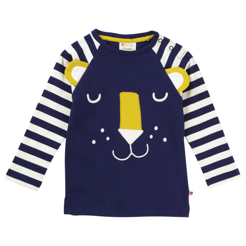Piccalilly Raglan Top - Hello Tiger