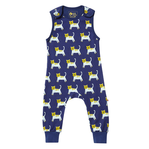 Image of Piccalilly Dungarees - Hello Tiger