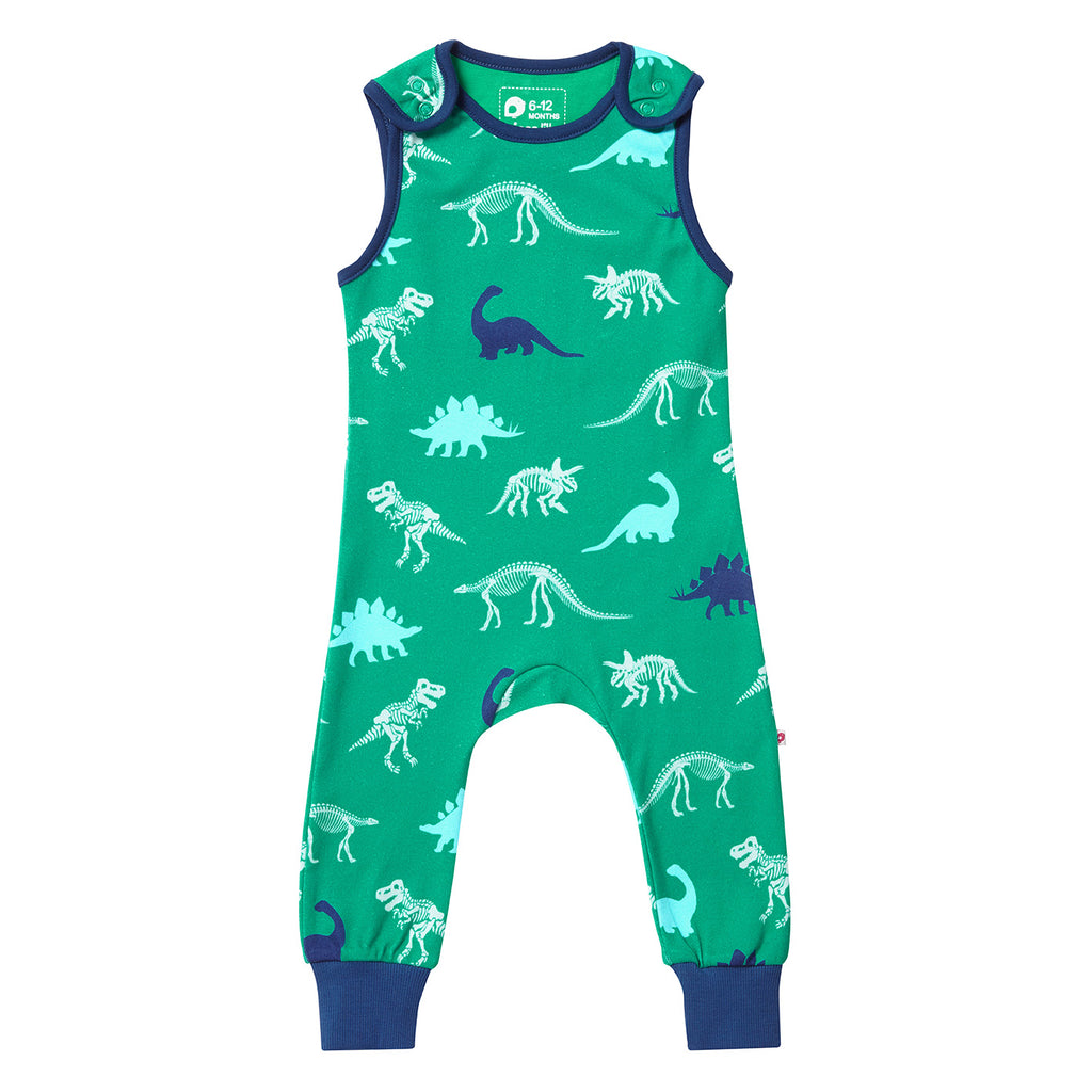 Piccalilly Dungarees - Dinosaur