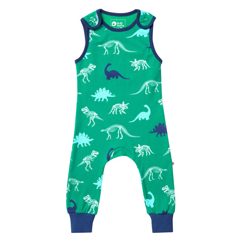 Image of Piccalilly Dungarees - Dinosaur