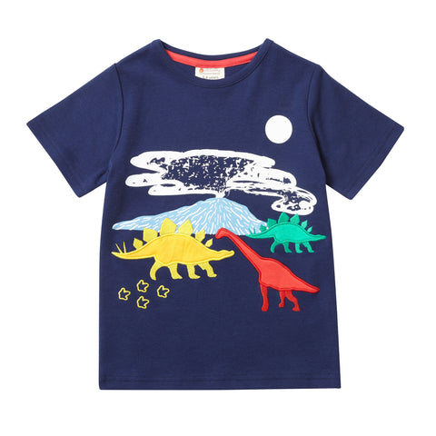 Image of Piccalilly T-Shirt - Dinosaur