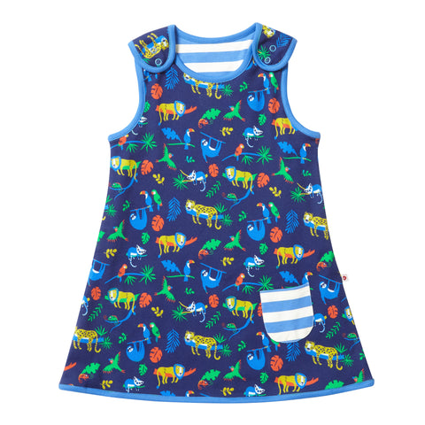 Image of Piccalilly Reversible Dress - Safari