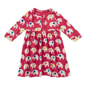 Piccalilly Dress - Elephant