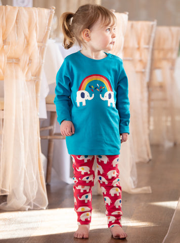 Image of Piccalilly Leggings - Elephant