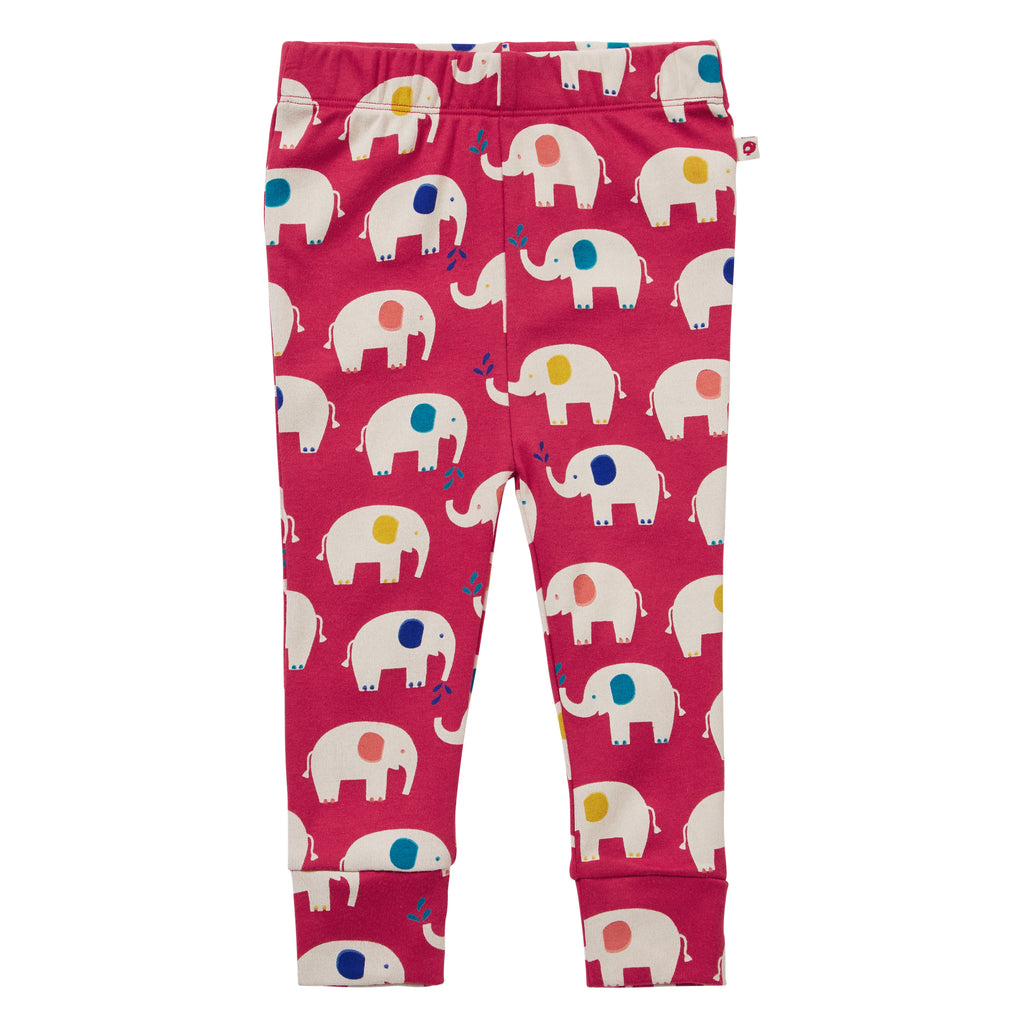 Piccalilly Leggings - Elephant