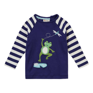 Piccalilly Raglan Top - Frog