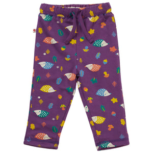 Piccalilly Reversible Trousers - Hedgehog