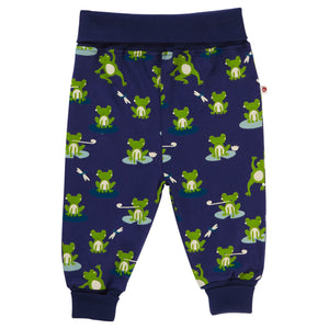 Piccalilly Pull-Up Trousers - Frog