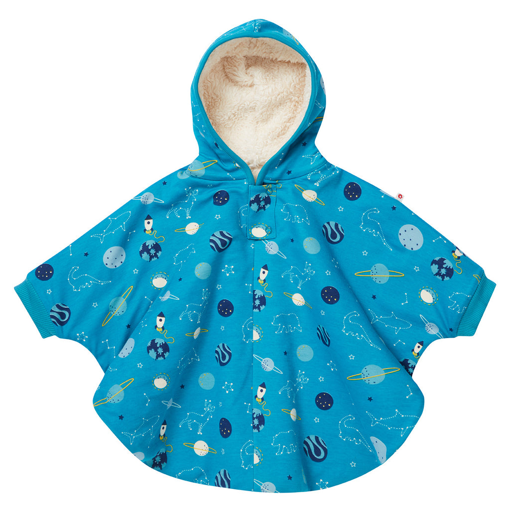 Piccalilly Kids Poncho - Space