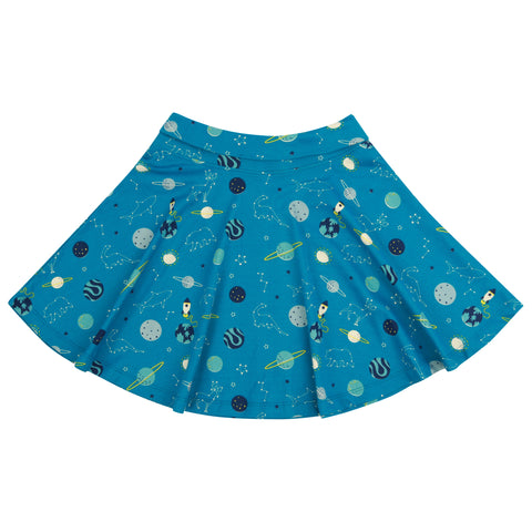 Piccalilly Skater Skirt - Space