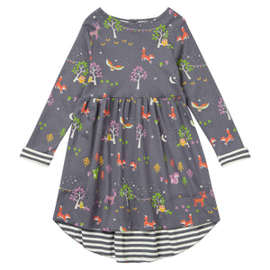 Piccalilly Dress - Winter Woodland