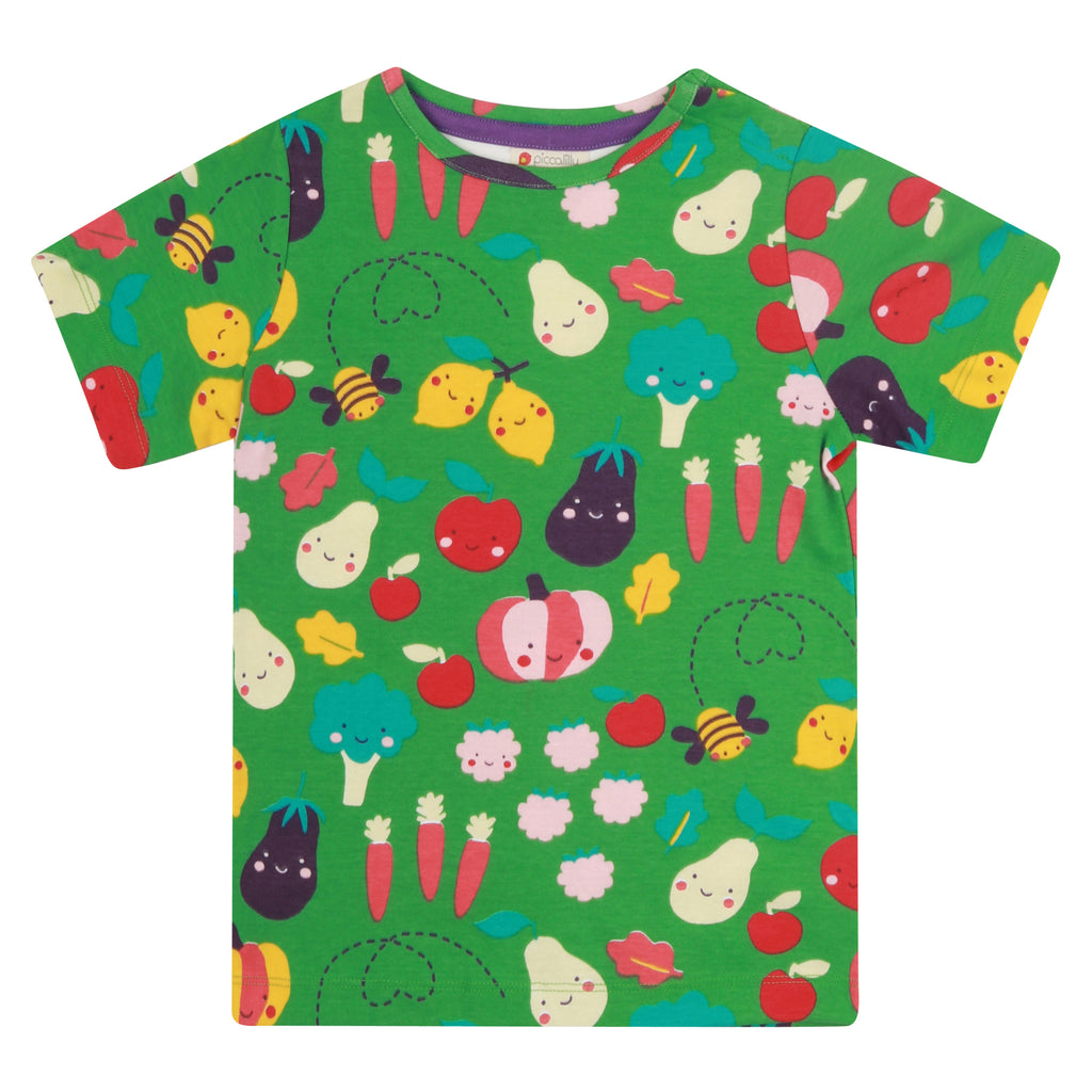 Piccalilly Kids T-Shirt - Grow Your Own All Over Print