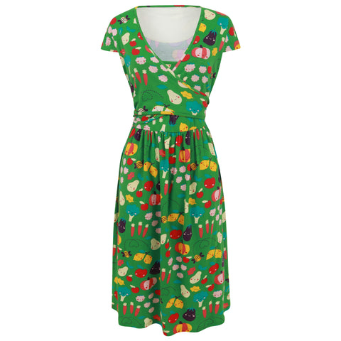 Piccalilly Women's Wrap Dress - Grow Your Own