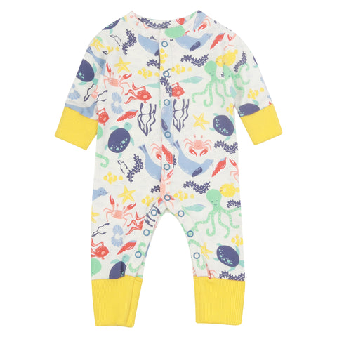 Piccalilly Baby Romper - Under Water