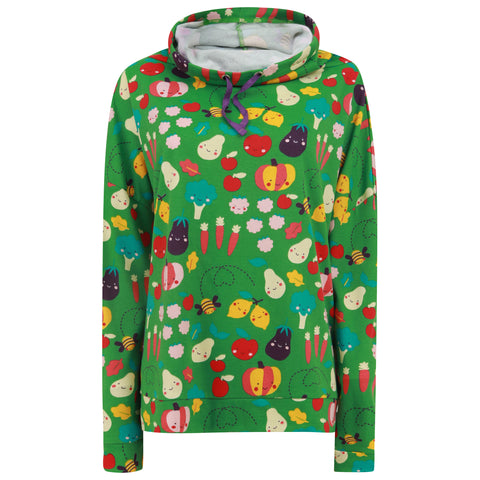 Piccalilly Women's Sweatshirt - Grow Your Own Funnel Neck