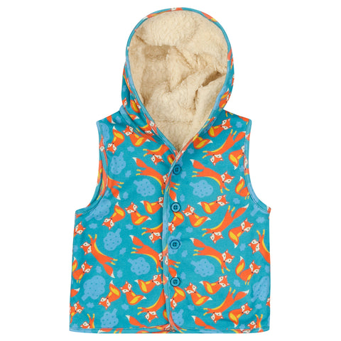 Piccalilly Gilet -  Foxes
