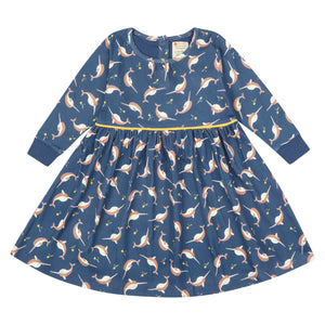 Piccalilly Dress - Narwhals
